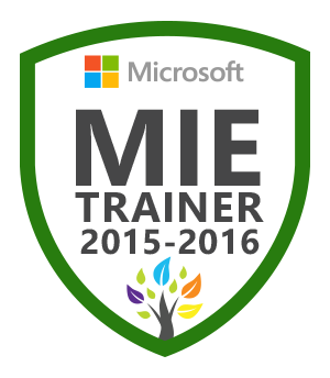 MIE Master Trainer 2015-16