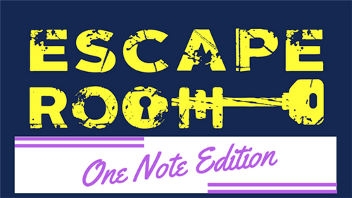 Escape Room- One Note Edition