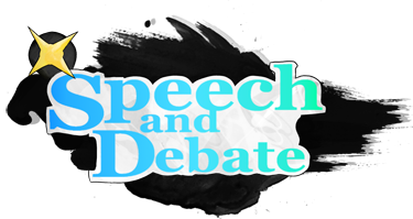 Speech and Debate Banner