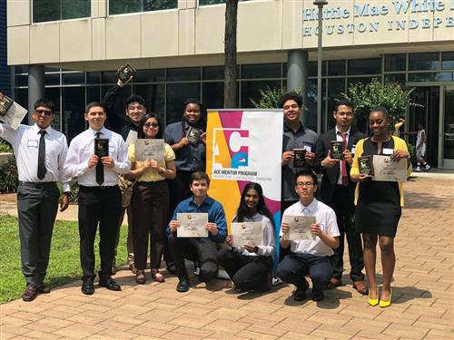 District ACE Mentorship team takes second in competition