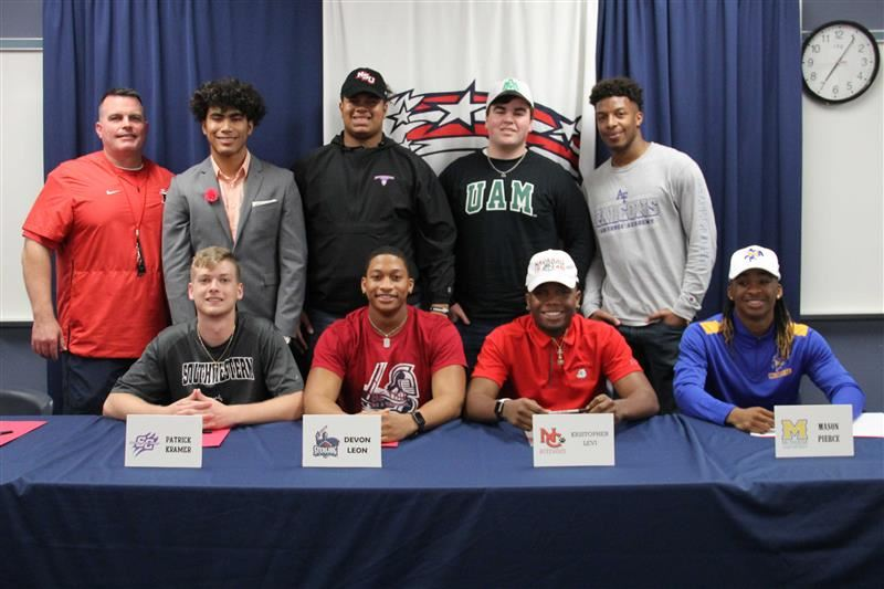 District congratulates athletes continuing career at college level