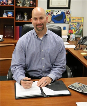 Berger named Assistant Superintendent for Support Services