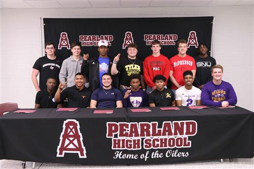 PHS National Signing Day