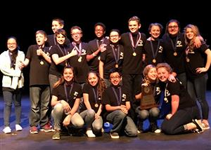District holds first junior high one-act play contest
