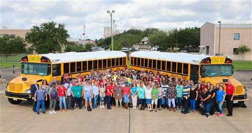 Let your world-class adventure begin at Pearland ISD Transportation Department Job Fair