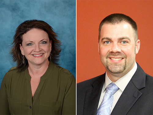 Campbell, Palombo named Principals of the Year