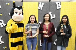Qiu wins district Spelling Bee championship