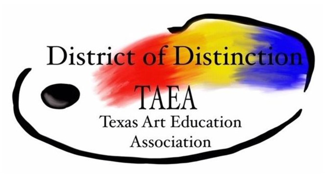 District receives Inaugural 'District of Distinction' Award from Texas Art Education Association