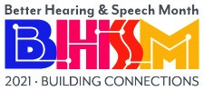 Logo courtesy of the American Speech-Language Hearing Association.