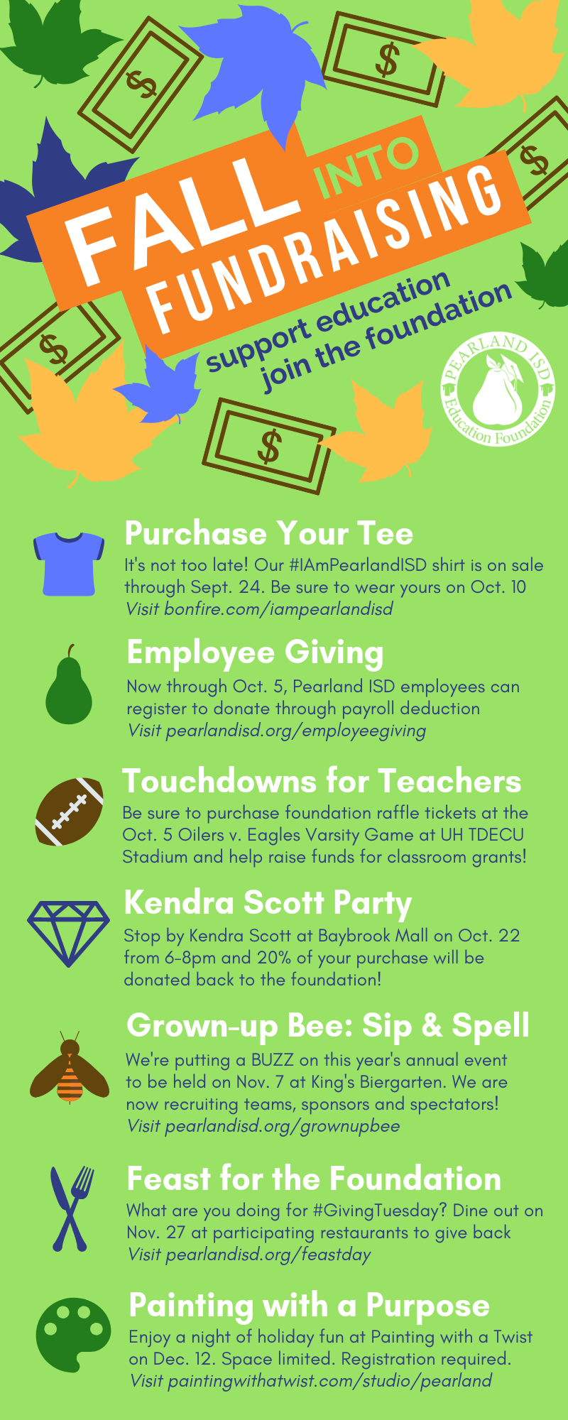 Fall into Fundraising