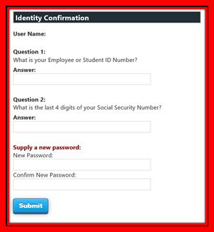 Password Identify