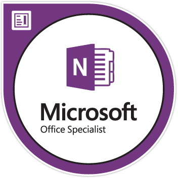 MOS OneNote Specialist