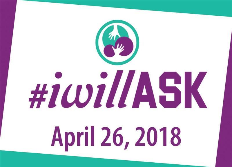 Read the full story about District to host second annual #iwillASK suicide prevention event
