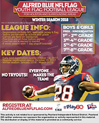 Youth Football League Flyer