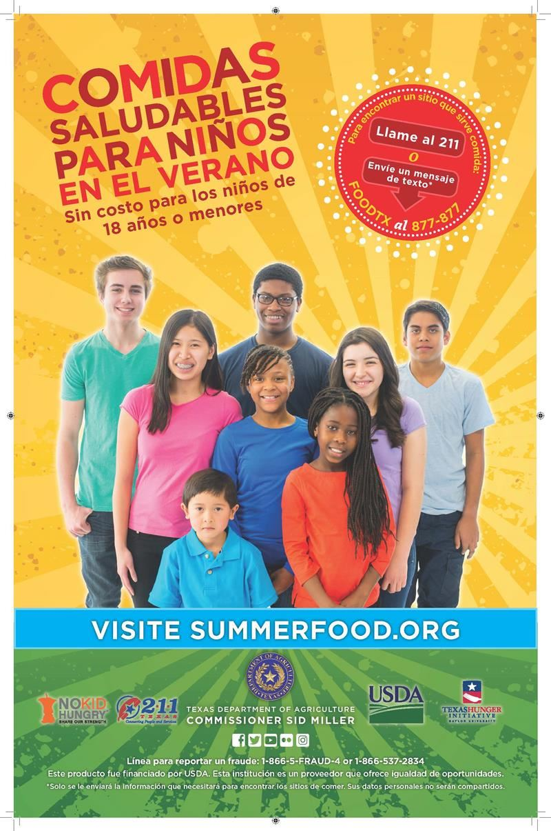 No Cost Summer Meals_Spanish
