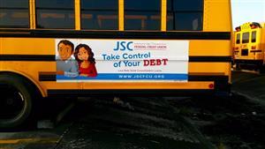 Alpha Media Bus Ad