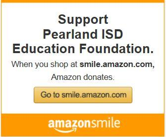 Support Pearland ISD Education Foundation Amazon Link