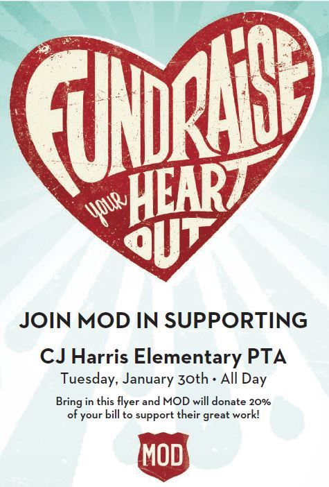 MOD Pizza Night benefiting CJ Harris