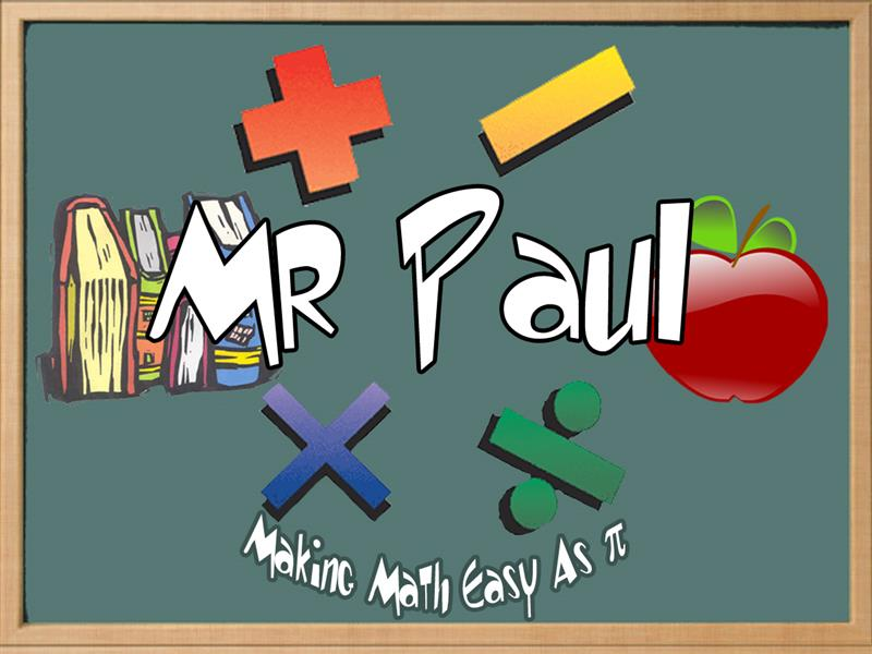 Mr. Paul, PAP Algebra II, AP Computer Science Principles