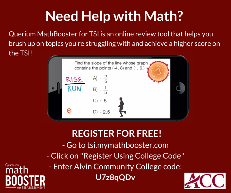 Querium MathBooster for TSI